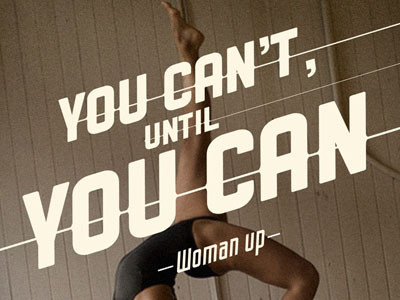 Under Armour Woman up