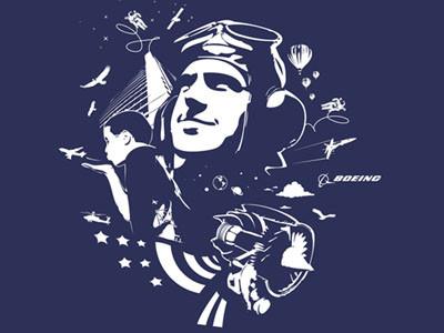 Boeing T-shirts